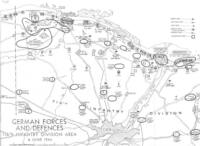 D-Day German Defences Map