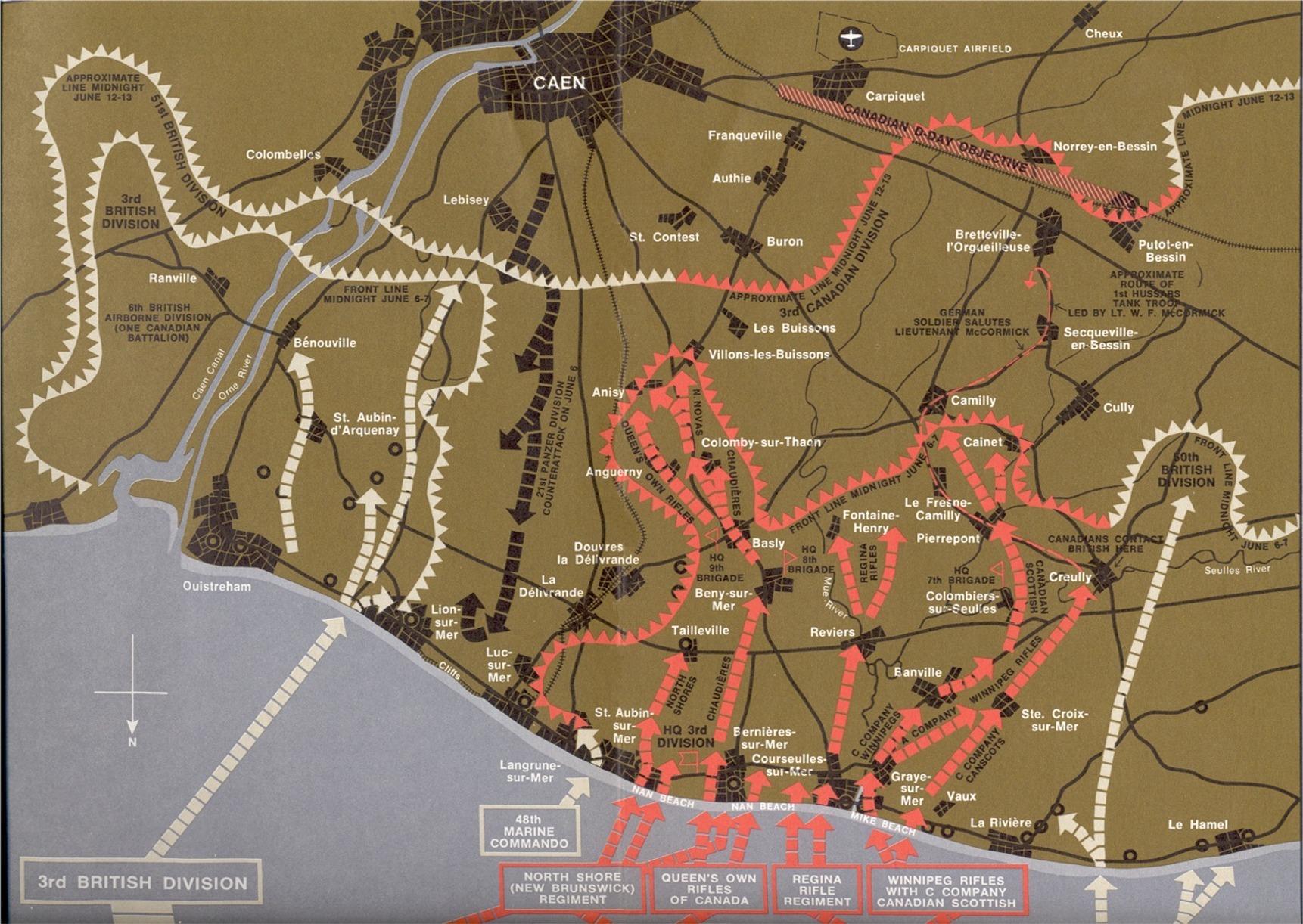 Juno Beach Maps